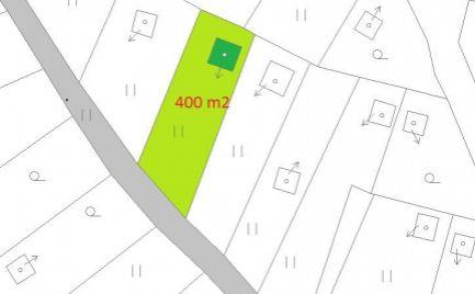 Záhrada s  chatkou,  s pozemkom 400  m2 –  B. Bystrica - Fončorda -  Cena -  37  000 €