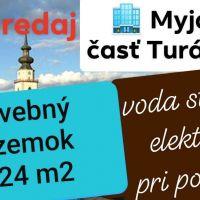 Pre rodinné domy, Myjava, 3424 m², Pôvodný stav
