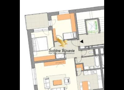 3 izbový byt s výhľadom na Tatry
