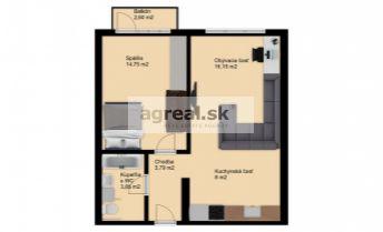 Predaj, 2-izb. byt (tehla) v pôvodnom stave (okrem plast. okien) v pokojnej a vyhľadávanej lokalite na úpätí Karpát, ul. Kadnárova, BA III- Pekná cesta