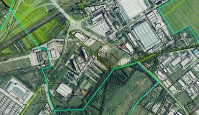 Predaj stav. pozemok 3400m2, všetky IS, Rybničná/ Na Pántoch, BA III., Vajnory