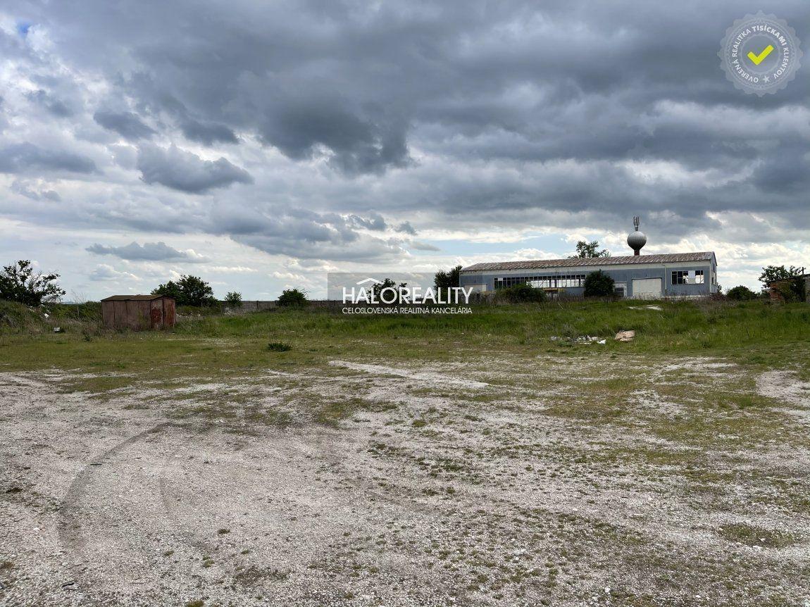 Predaj, priemyselný pozemok 3100 m2 Veľké Dvorany - EXKLUZÍVNE HALO REALITY