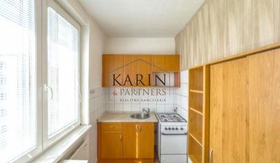 Slnečný 2-izbový byt v tichej lokalite v meste Skalica