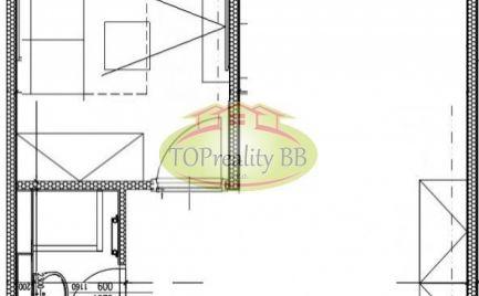 Byt  1,5 izbový apartmán, 30 m2, B. Bystrica, kompletná rekonštrukcia, výhodná cena 57 000 € !!!