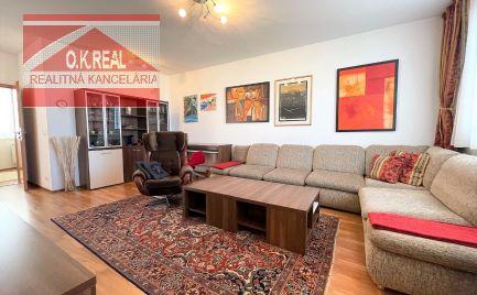 Ponúkame na prenájom priestranný 2-izbový byt s parkovaním v novostavbe na Kresánkovej ulici, 650,-Eur aj s energiami