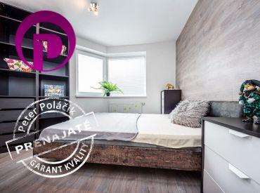 PRENAJATÉ: PROVÍZIU NEplatíte:  Príjemný 2i zariadený byt s balkónom a parkovaním na prenájom