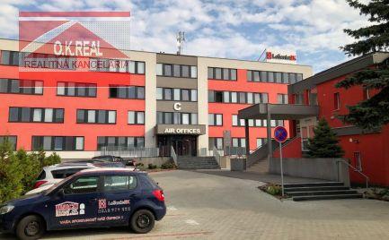 Ponúkame na prenájom kancelárie o výmere od 13m2 do 75m2 v budove AIR OFFICES na Pestovateľskej ulici - BA II.