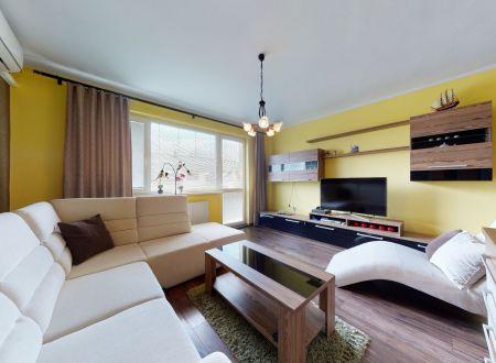 Zariadený 3 izb. byt /2 balkóny, kompletná rekonštrukcia/ Trebatice