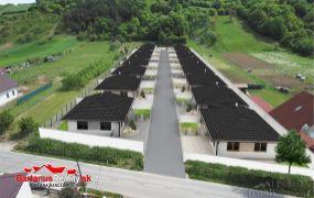 Posledny dom za 145.000,- Eur.EXKLUZÍVNE IBA U NÁS Vám ponúkame na predaj 15x  novostavba rodinný dom - bungalov 4 izbový, 127 m2, pozemok cca 500 m2, Mikušovce.