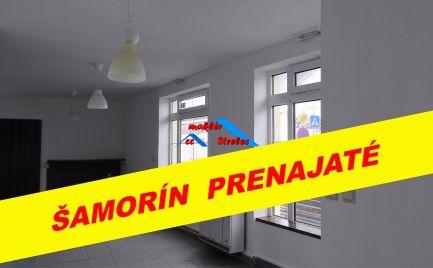 Len u nás!!! Obchodný priestor do prenájmu 55 m2 v Šamoríne