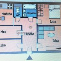 4 izbový byt, Košice-Západ, 82 m², Kompletná rekonštrukcia