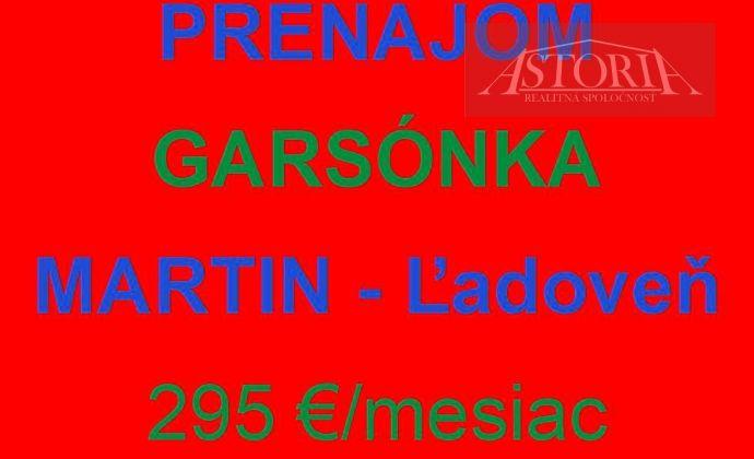 pekná Garsónka - 295€ - Martin - Ľadoveň - PRENÁJOM