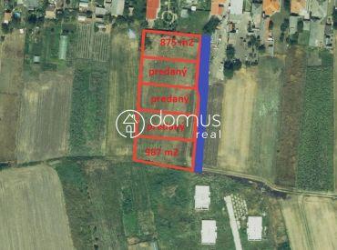 NA PREDAJ stavebné pozemky v obci Žihárec