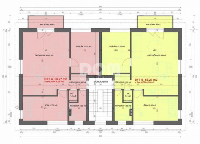 3 izbový byt - Rudina - Fotografia 1