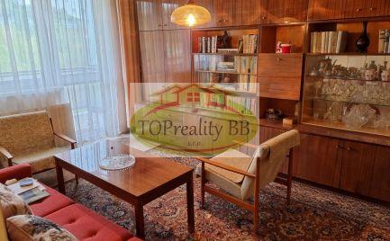 Len u nás - Veľký tehlový  1 izbový byt 35 m 2, s veľkou  loggiou, širšie centrum B. Bystrica – Cena  89 000€