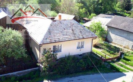 DMPD real Vám ponúka na predaj rodinný dom v obci Malá Čausa.