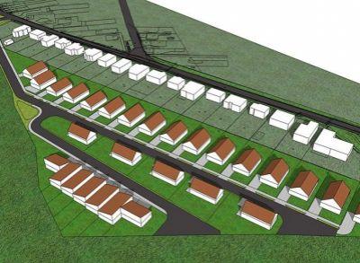 Posledné pozemky pre výstavbu rodinných domov v peknej tichej lokalite Lehníc od 500 do 800m2