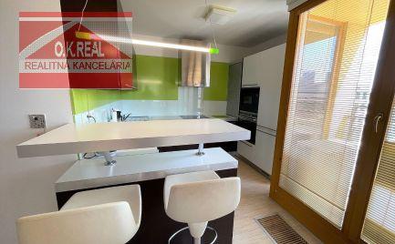 Ponúkame na prenájom 2-izbový byt v novej nadstavbe s výhľadom na mesto, ul. Páričková, lokalita Nivy,