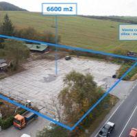 Priemyselný pozemok, Strečno, 6631 m², Pôvodný stav