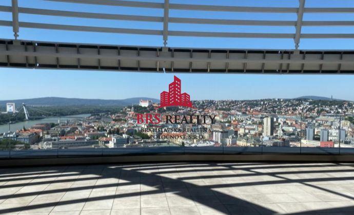 Rezervované 2 izb. byt v Sky parku s výhľadom na hrad