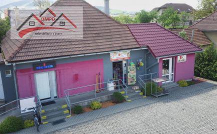 DMPD Real Vám ponúka dom určený na podnikanie v obci Čereňany