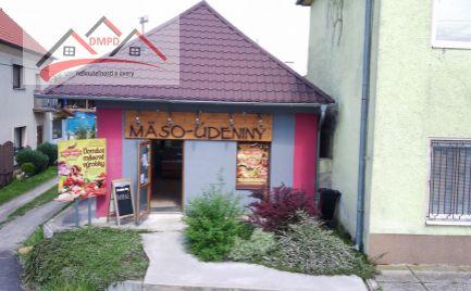 DMPD Real Vám ponúka dom určený na podnikanie v obci Oslany