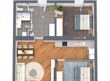 AFYREAL predaj 3izb tehla, strop 3,2m, záhrada za domom, Kutuzovova kompletná rekonštrukcia