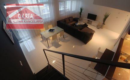Ponúkame na prenájom 3 izbový mezonetový byt na Zadunajskej ceste v Bratislave oproti AUPARKU.
