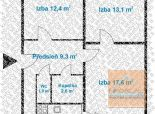 3 izb. byt, KPT. RAŠU, loggia, po NOVEJ rekonštrukcii