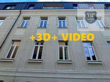Predané. Vip.VIDEO - Byt 1+1 49m2, tehlový, novostavba, priamo v centre mesta - Banská Bystrica