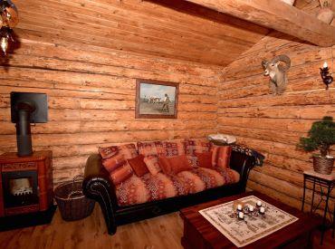 3i dom, 75 m2 – Gabčíkovo: pozemok 400 m2, nový zrubový dom v lese blízko Dunaja