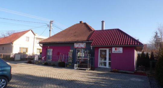 Na predaj polyfunčný objekt aj s 2 izbovým bytom obec Čereňany okres Prievidza FM1086