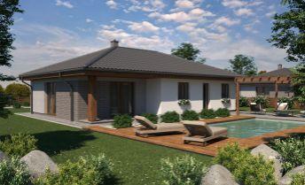 Ponúkame na predaj novostavbu bungalovu v obci Tovarniky