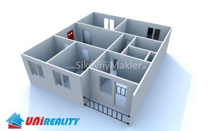 REZERVOVANÉ !!! BÁNOVCE NAD BEBRAVOU - 4 izbový byt / DUBNIČKA / čiastočná rekonštrukcia / IBA U NÁS
