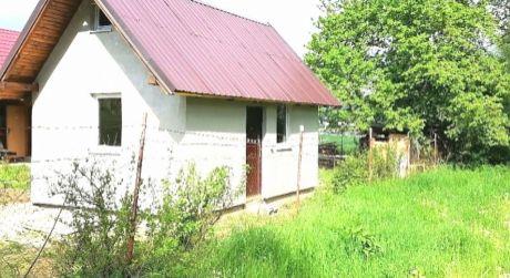 Na predaj murovaná chatka s vlastným pozemkom Bystrička
