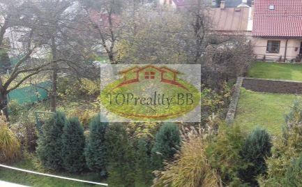 Investícia !!  Veľký tehlový 3 izbový byt,  85 m2, na Fončorde, B. Bystrica širšie centrum – cena  155 000€