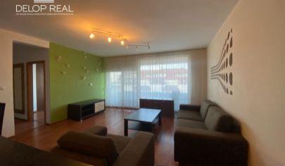 Veľký 2 izbový byt s krásnym výhľadom a garážovým státim v novostvbe na Dlhých Dieloch
