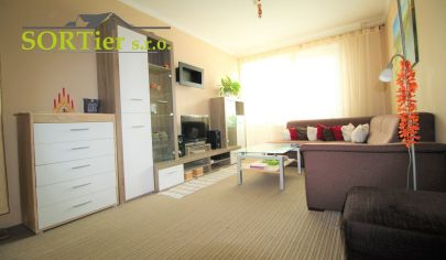 !!Výrazne znížená cena !! 3 izbový byt s balkónom v centre (bezproblémové parkovanie)