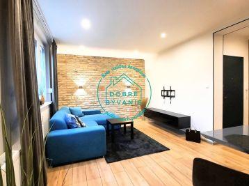 Exkluzívne na Prenájom zariadený nadštandardný byt v centre