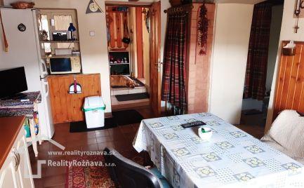 Rodinný dom chalupa v obci Čučma