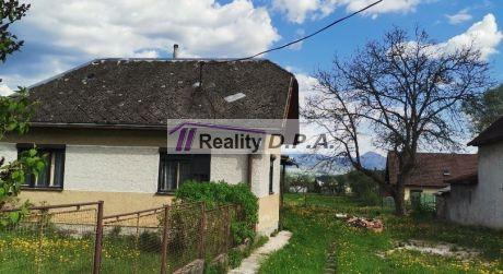 EXKLUZÍVNE-Rodinný dom Slovany s pozemkom 2000m2