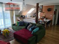 REALFINANC - 100% aktuálny !!!  3-izbový byt o výmere 68 m², 5 m² balkón, 9 m² pivnica a 2 parkovacími miestami !!!