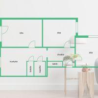 3 izbový byt, Michalovce, 73.83 m², Kompletná rekonštrukcia