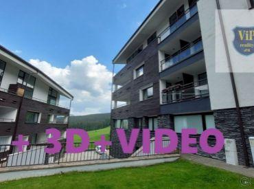Byt s terasou na juh, spolu 91m2, priamo na svahu, Banská Bystrica - Donovaly