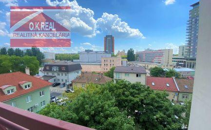 Ponúkame na predaj 4 izbový byt s výťahom a s loggiou, vo vyhľadávanej lokalite na Klincovej ulici, BA II. Ružinov-NIVY