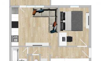 Ponúkame Vám na predaj 2 izbový byt v Ružinove