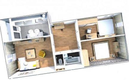 Byt 3 izbový byt typu MNKS 64 m2 s loggiou,  B. Bystrica, po kompletnej  rekonštrukcii – Cena 130 000€