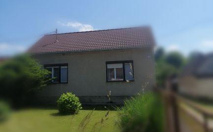 Rezerve 3 izbový rodinný dom v obci Prietrž
