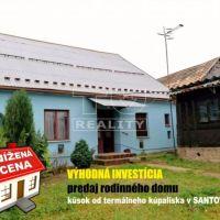 Rodinný dom, Santovka, 900 m², Čiastočná rekonštrukcia