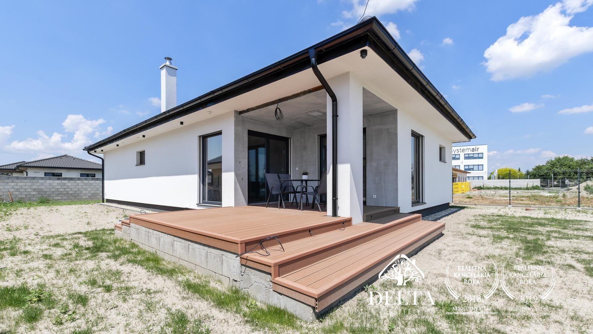 DELTA | Novostavba -  zariadený 4 izbový rodinný dom, Astrová ulica - Kalinkovo